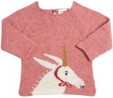 Oeuf Unicorn Intarsia Baby Alpaca Sweater