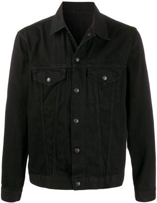 Yohji Yamamoto Snap Button Denim Jacket