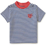 Ralph Lauren Baby Boys 3-24 Months Nautical-Stripe Pocketed Short-Sleeve Tee