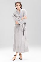 Natori Cable Knit With Sherpa Robe