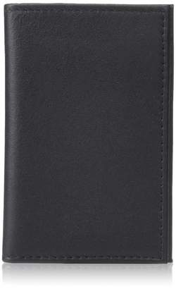 Royce Leather RFID Blocking Credit Card Case Wallet in Genuine Leather Travel Wallet