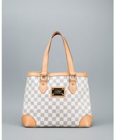Louis Vuitton blue and white damier azur canvas 'Hampstead PM' vintage bag