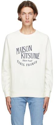 MAISON KITSUNÉ Off-White Palais Royal Sweatshirt