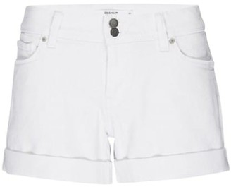Hudson Croxely Mid-Rise Rolled Hem Denim Shorts