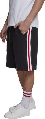 Urban Classics Men's Stripe SweatShorts Shorts