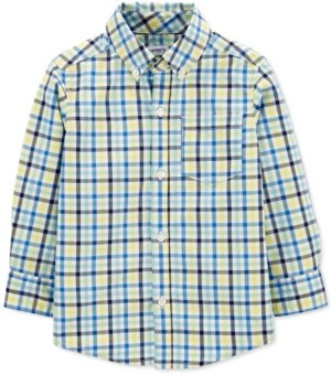 Carter's Toddler Boys Cotton Plaid Shirt