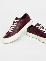 Free People Premium Leather Low Top Trainers