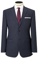 Daniel Hechter Pindot Tailored Suit Jacket, Charcoal