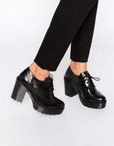 Bronx Chunky Heeled Shoes
