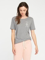 Old Navy Relaxed Graphic Slub-Knit Tee for Women