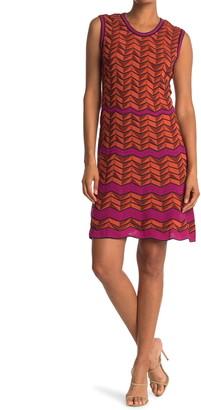 M Missoni Chevron Print Tank Dress