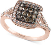Effy Espresso by Diamond Ring (5/8 ct. t.w.) in 14k Rose Gold