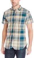 Just A Cheap Shirt Men's Short Sleeve Madras Woven