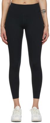 Nike Black One Luxe 7/8 Leggings