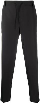 MAISON KITSUNÉ Elasticated-Waist Straight Leg Trousers