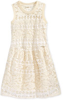 GUESS Lace Dress, Big Girls (7-16)