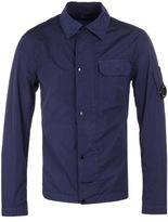 Cp Company Regal Blue Nylon Watchviewer Overshirt
