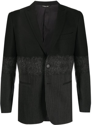 Tonello Colour-Block Fitted Blazer