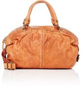 Campomaggi WOMEN'S STUDDED DOCTOR SATCHEL-TAN