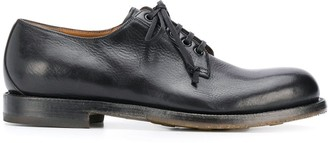 Silvano Sassetti Round Toe Lace Up Oxford Shoes