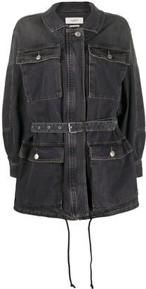Etoile Isabel Marant Belted Denim Jacket