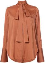 Ellery pussy bow blouse - women - Silk/Spandex/Elastane - 6