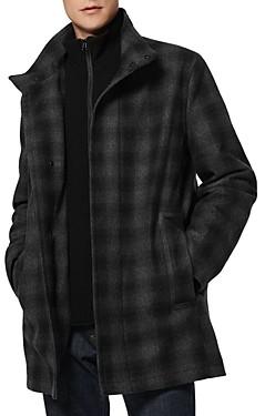 Andrew Marc Coyle Layered Look Coat