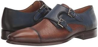 Mezlan Saber (Tan/Sol/Medium Blue) Men's Shoes