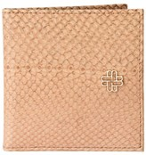 Mayu Thule Fish Leather Card Case - Mimosa