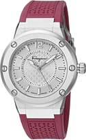 Salvatore Ferragamo Women's FIG010015 F-80 Analog Display Quartz Pink Watch
