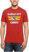 '47 Men's Kansas City Chiefs Two Bar Splitter T-Shirt