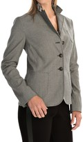 Bogner Adeline Houndstooth Blazer - Wool Blend (For Women)