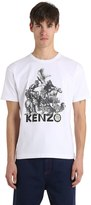 Kenzo Memento Jungle Cotton Jersey T-Shirt