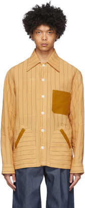 Nicholas Daley Yellow Yussef Shirt Jacket
