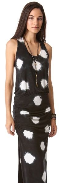Young Fabulous & Broke Mel Maxi Polka Dot Dress