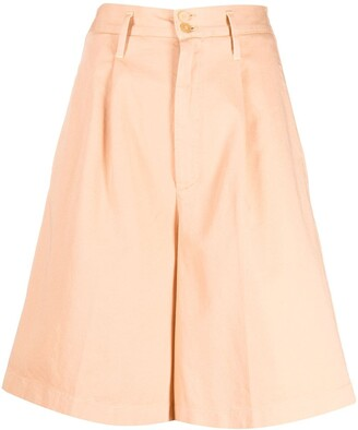 Forte Forte Cotton Culotte Shorts