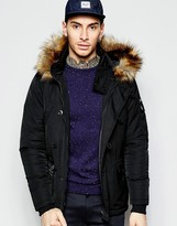 Le Breve Hooded Parka Jacket