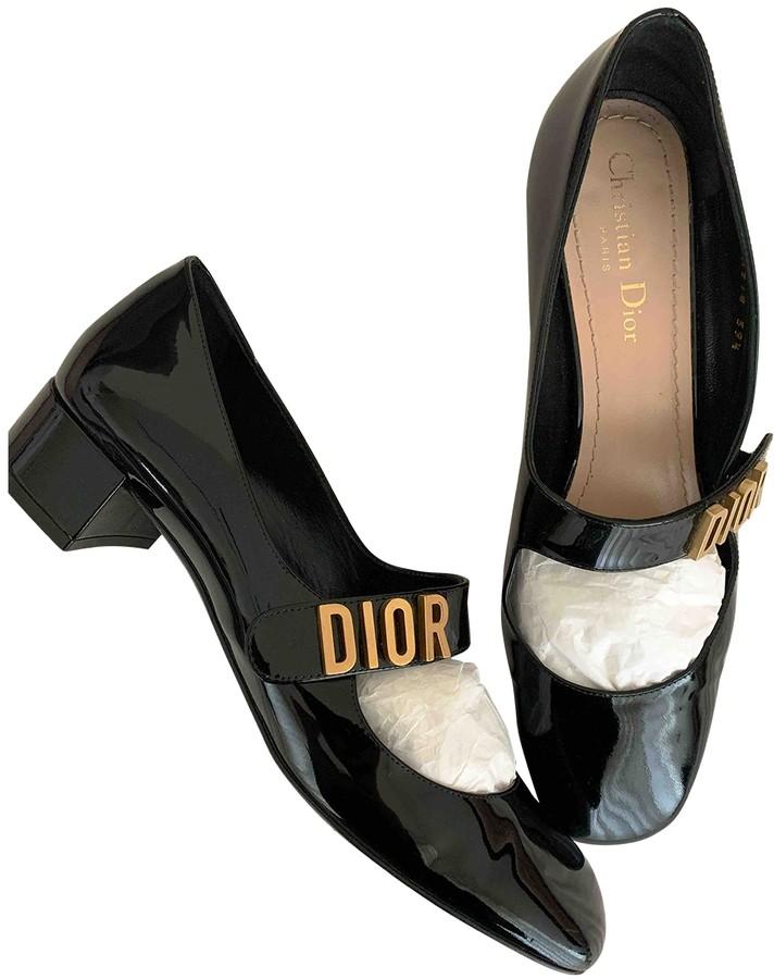 Black Patent leather Ballet flats