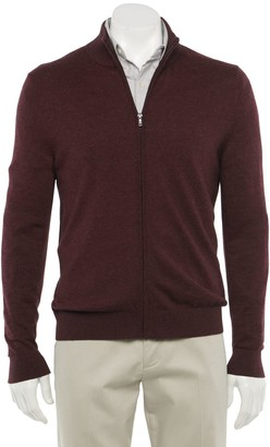 Croft & Barrow Men's Easy-Care Full-Zip Sweater