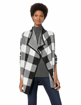 Jones New York Women's Plaid Cardigan