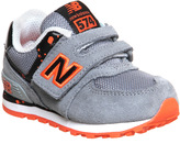 New Balance 574 Velcro 4-9