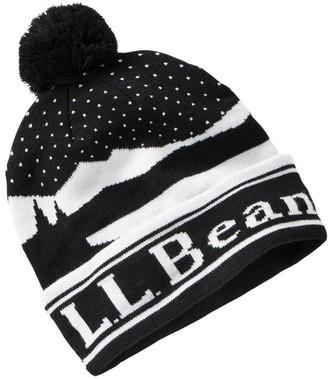 L.L. Bean Adults' Katahdin Pom Hat, Birdseye