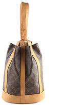 Louis Vuitton Brown Coated Canvas Monogram Randnnee PM Backpack BC3765 MHL