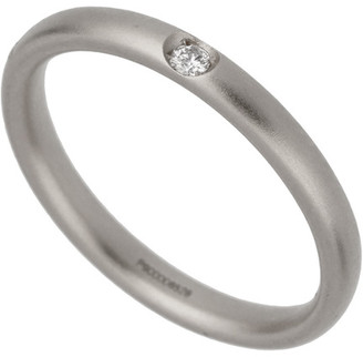 Pomellato 18K 3.12 Grams 0.03 Ct. Tw. Diamond Ring