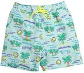 Stella McCartney Sun & Palms Print Nylon Shorts
