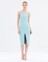 Aqua Slice Dress - THE ICONIC Exclusive