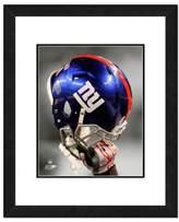 NFL 18-Inch x 22-Inch New York Giants Helmet Framed Photo