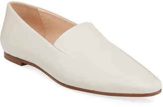 The Row Minimal Loafer Leather