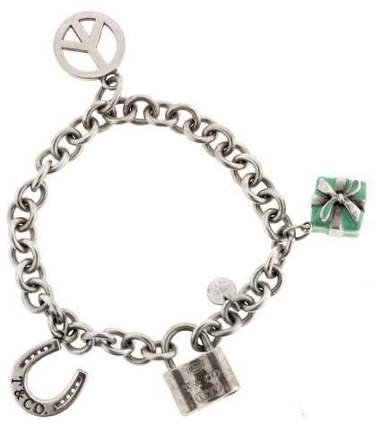 Tiffany & Co. & Co.Sterling Silver Charm Bracelet
