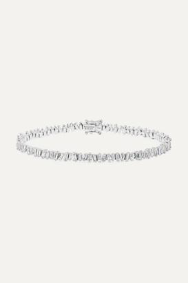 Suzanne Kalan 18-karat White Gold Diamond Bracelet - one size